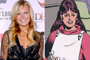 Malin Akerman is Laurie Juspeczyk aka The Silk Spectre