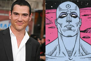 Billy Crudup is Jon Osterman aka Dr. Manhattan