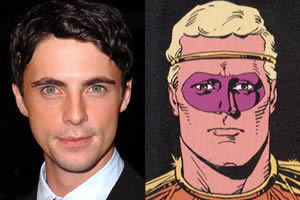 Matthew Goode is Adrian Veidt aka Ozymandias