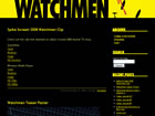 Watchmen Movie Production Blog