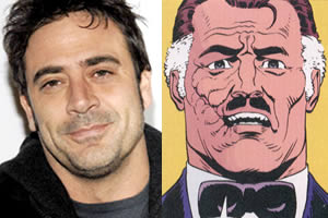 Jeffrey Dean Morgan is Edward Blake aka The Comedian