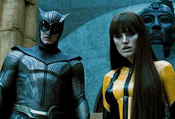 Nite Owll II and Silk Spectre II
