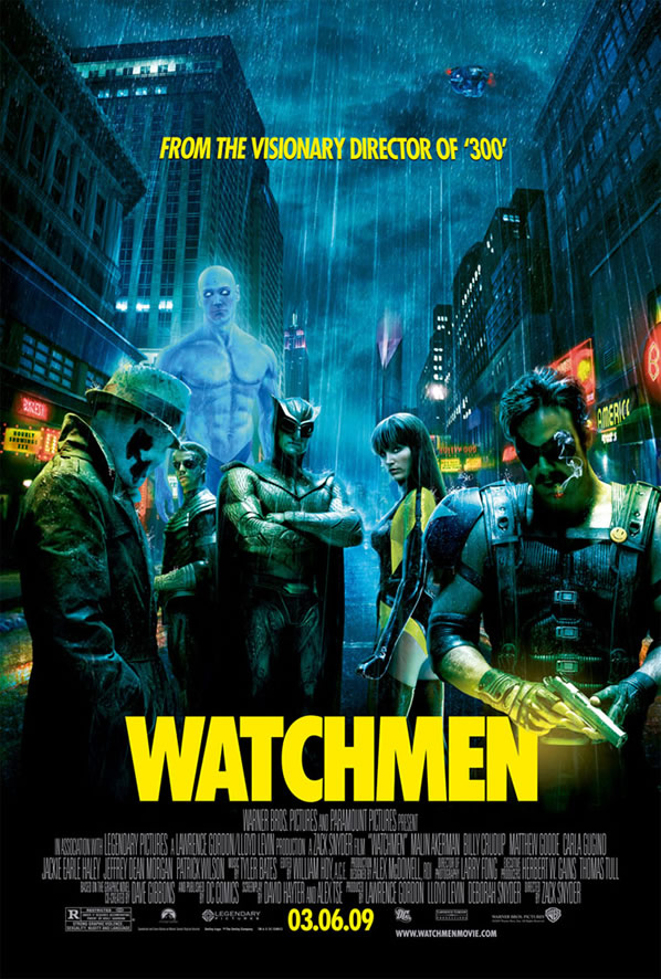 Theatrical Poster for Watchmen