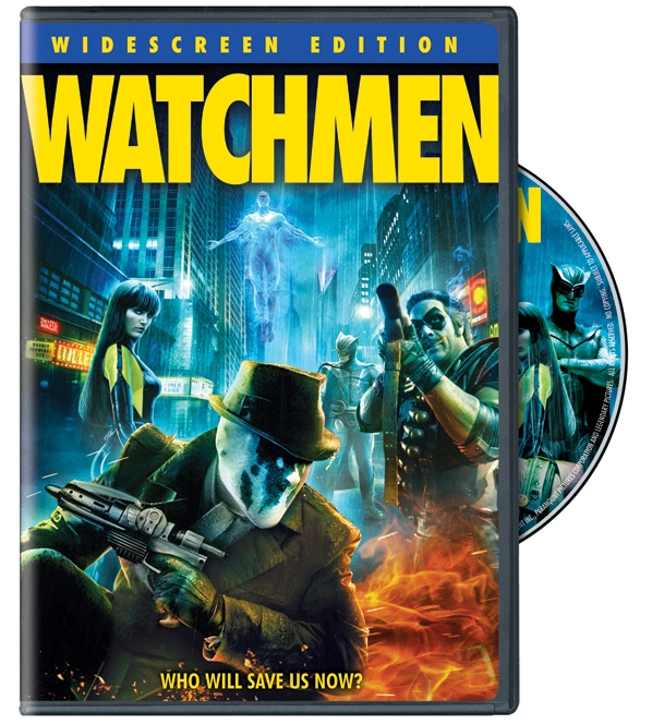 Watchmen DVD Widesccreen Edition