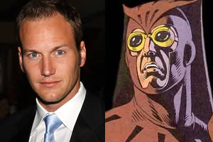 Patrick Wilson is Dan Dreiberg aka The Nite-Owl