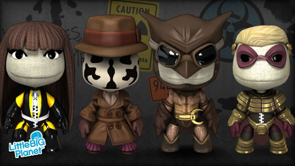 Watchmen costume kit for LittleBigPlanet
