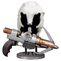 Rorschach Gun and Mask Prop Set