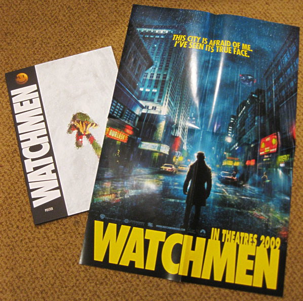 Watchmen movie teaser poster