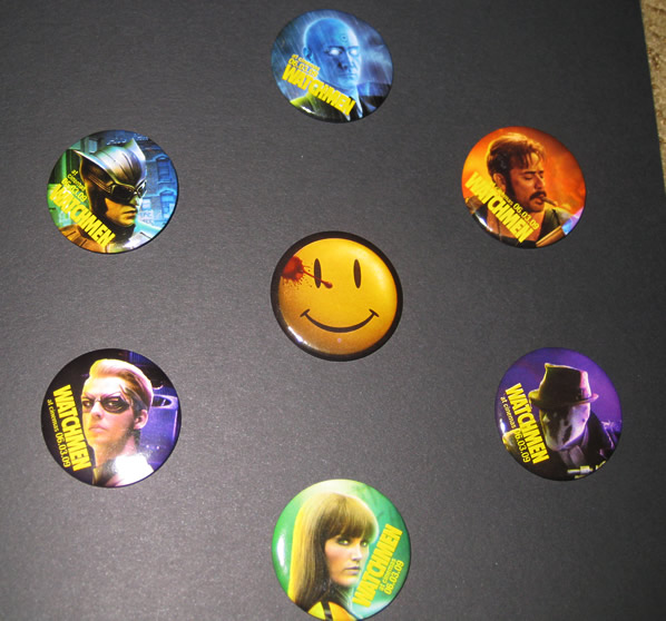 Watchmen movie badges