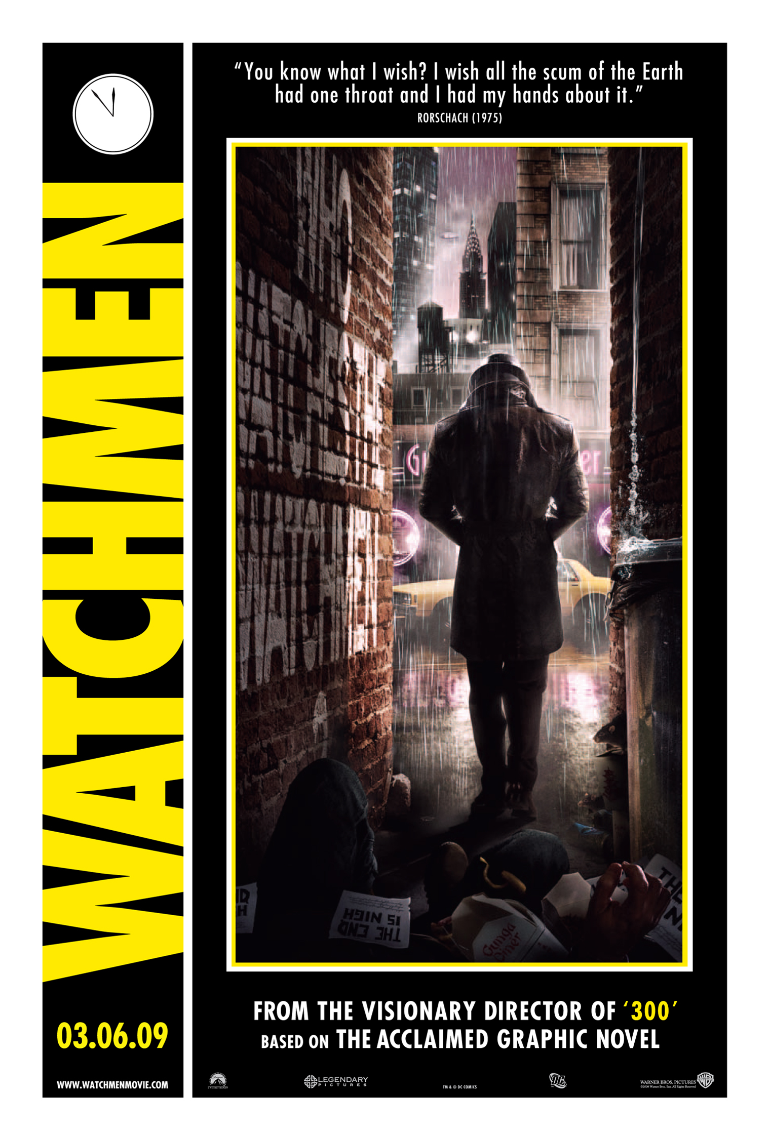 watchmen movie posters. Black Bedroom Furniture Sets. Home Design Ideas